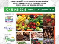 18th Agrofood Expo - Jakarta Convention Center, 10-13 Mei 2018