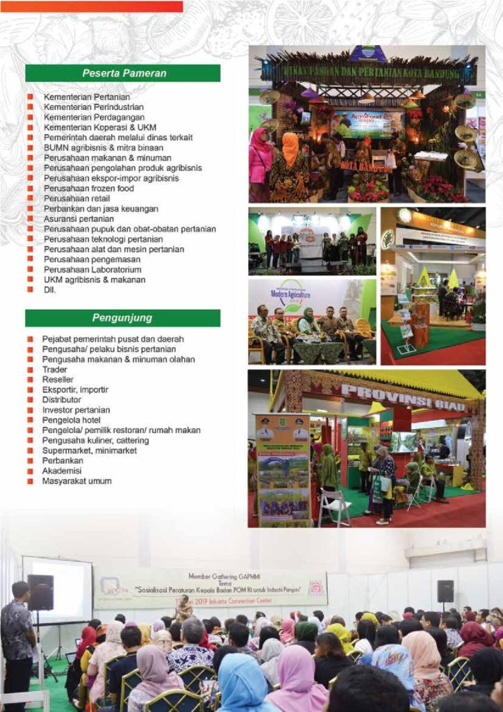 18th Agrofood Expo Jakarta Convention Center 10 13 Mei 2018 Haievent Com