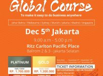 Alibaba Global Course Indonesia - Ritz Carlton Pacific Place Jakarta, 5 Desember 2017