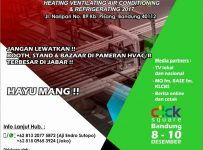 BE-HVACR - Mall Click Square Bandung, 8-10 Desember 2017