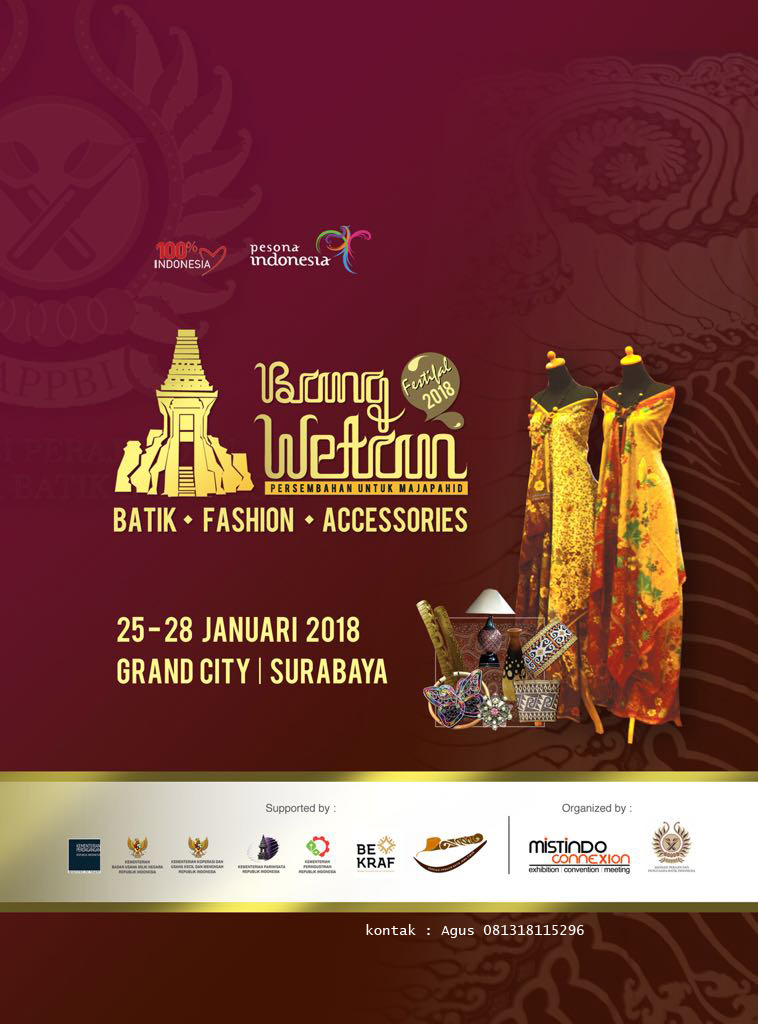 Bang Wetan - Grand City Surabaya, 25-28 Januari 2018