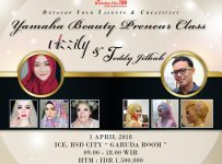 Beauty Class with Vizzily & Hijab Fashion Class with Teddy Jilbab - ICE BSD, 01 April 2018