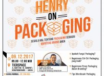 Brandstart : Henry on Packaging - TierSpace Jakarta, 9 Desember 2017
