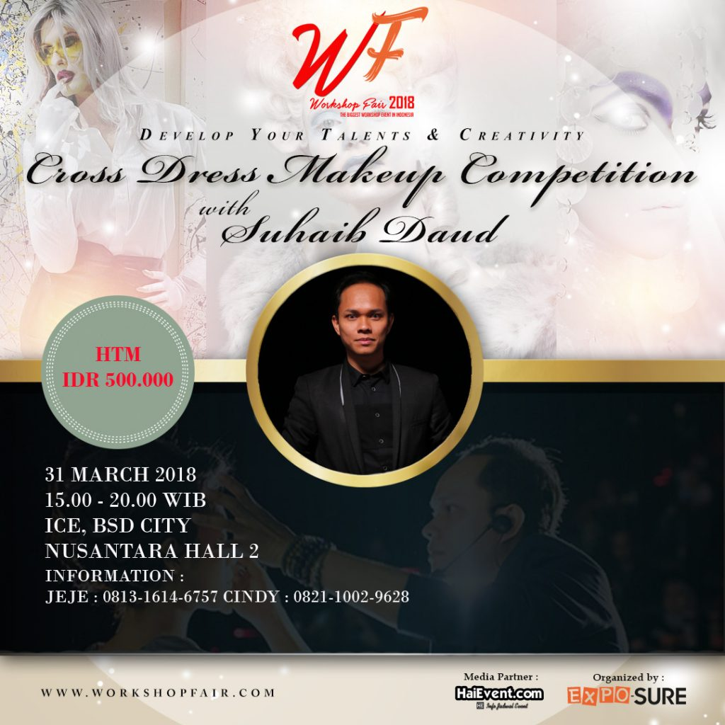 Crossdress Makeup Competition - ICE BSD, 31 Maret 2018