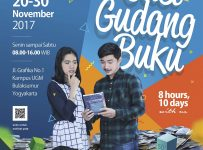 Cuci Gudang Buku - Showroom UGM Press, 20-30 November 2017