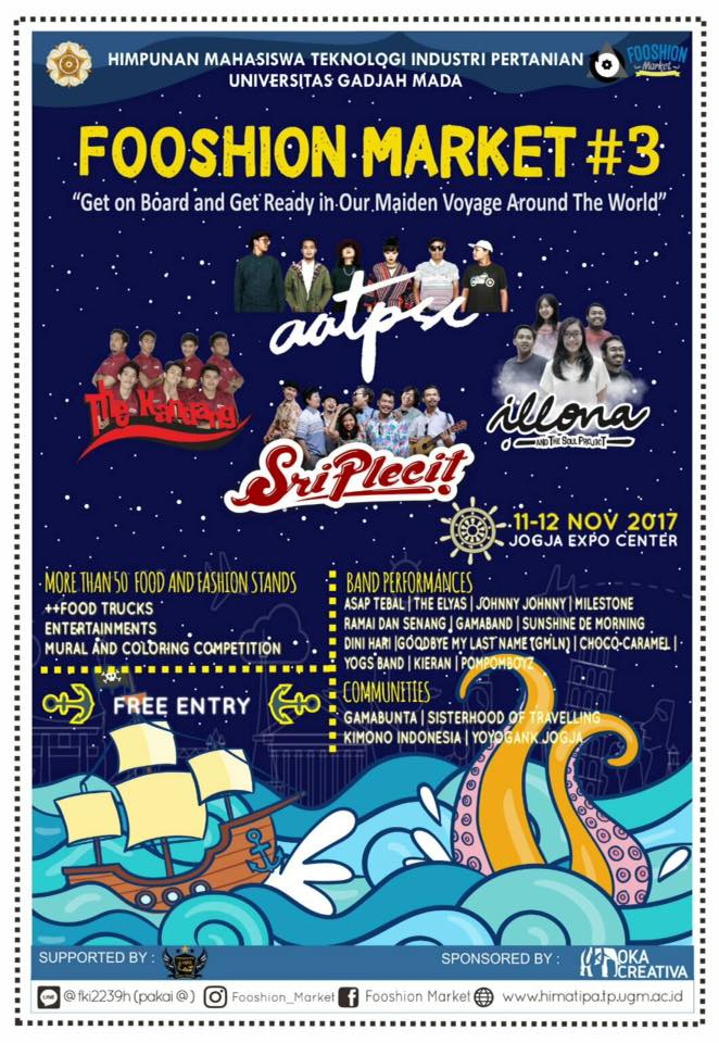 Fooshion Market #3 - Jogja Expo Center (JEC), 11-12 November 2017