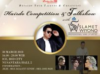 Hairdo Competition & Talkshow - ICE BSD, 30 Maret 2018