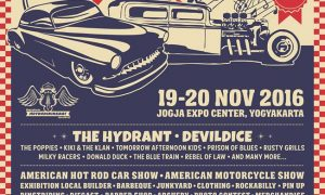 Hot Rod Weekend Party - Jogja Expo Center (JEC), 25-26 November 2017