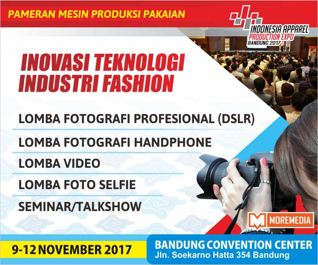 Indonesia Apparel Production Expo - Bandung Convention Center (BCC), 09-12 November 2017 (2)