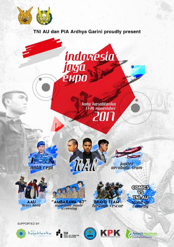 Indonesia Jaya Expo - Mall Kota Kasablanka, 17-19 November 2017