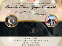 Inside Flow Yoga Concert with Young Ho Kim - ICE BSD, 01 April 2018