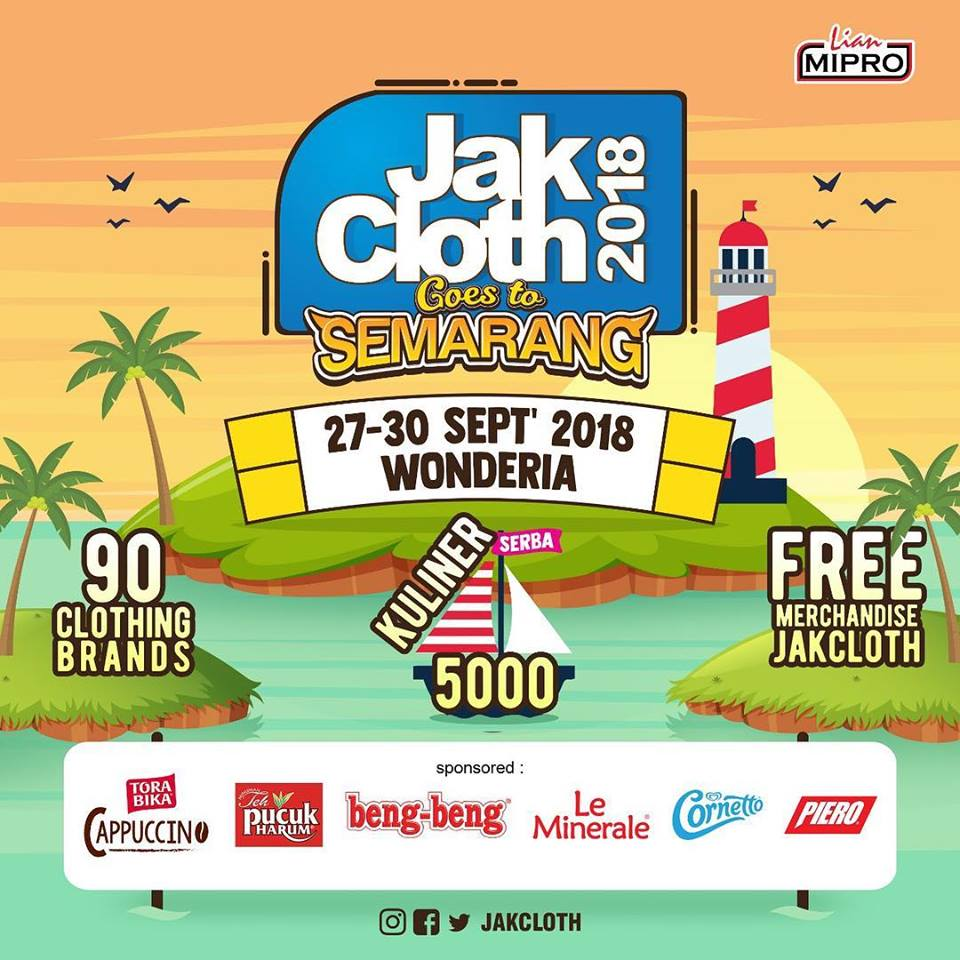JakCloth Goes to Semarang - Wonderia, 27-30 September 2018