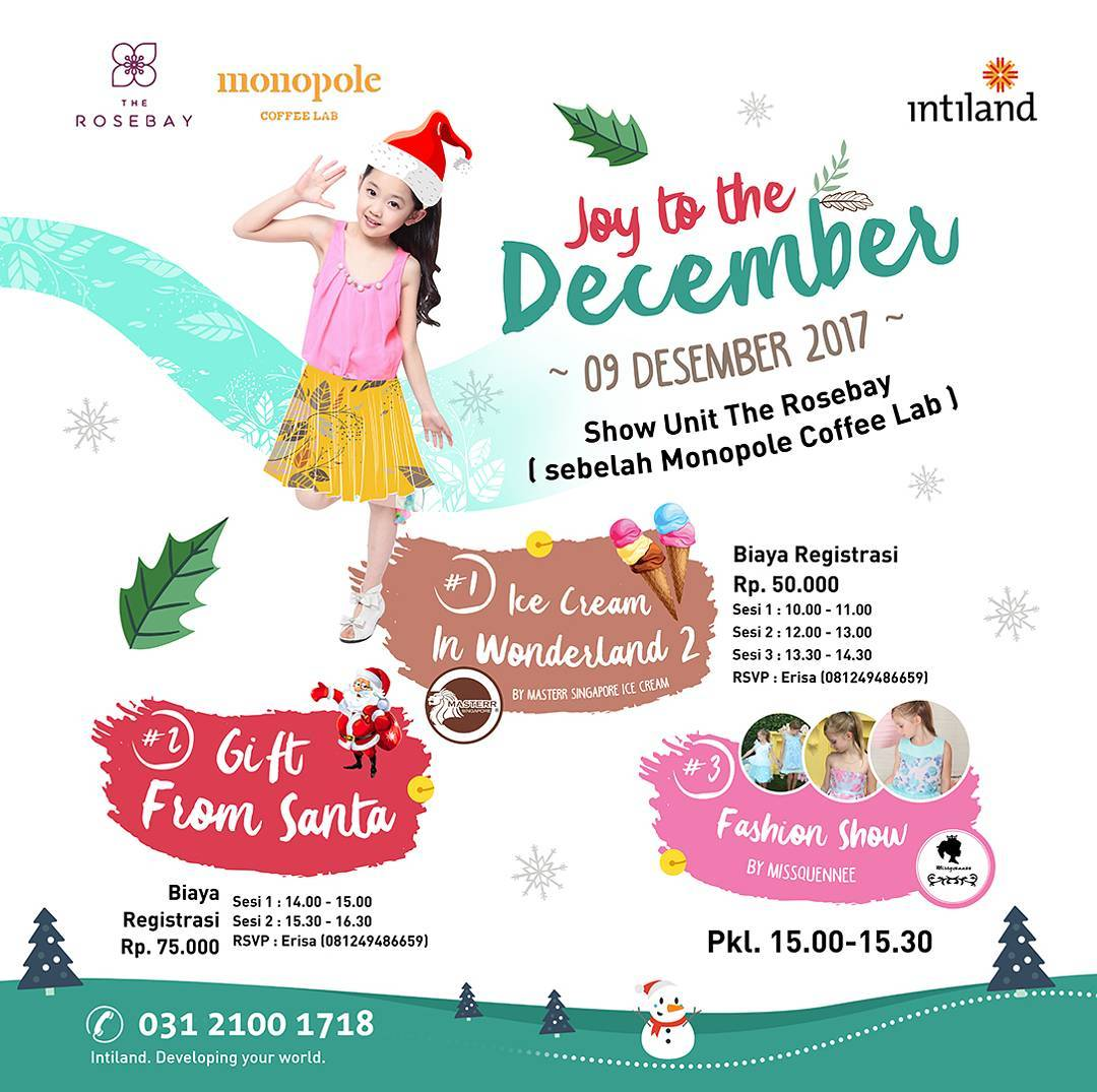 Joy to The December - The Rosebay (Monopole Graha Family), 09 Desember 2017