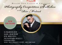 Photography Competition & Talkshow with @riomotret - ICE BSD, 31 Maret 2018