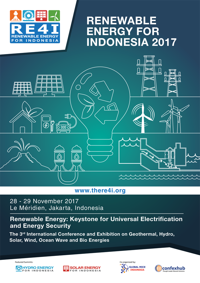 Renewable Energy for Indonesia (RE4I) - Le Meridien Jakarta, 28-29 November 2017