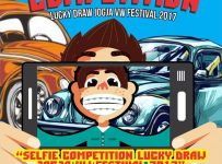 Selfie Competition Lucky Draw Jogja VW Festival 2017