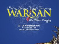Wasiat Agung Negeri Nusantara (Warisan) - Jakarta Convention Center, 23-26 November 2017