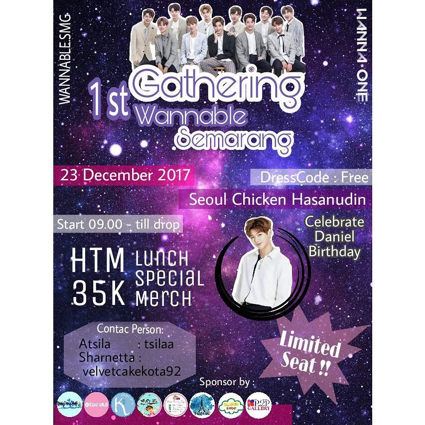 1st Gathering Wannable Semarang - Seoul Chicken, 23 Desember 2017