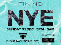 Finns Beach Club New Year Eve - Bali, 31 Desember 2017