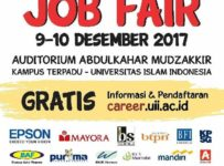 Job Fair UII Integrated Career Days - Universitas Islam Indonesia, 9-10 Desember 2017
