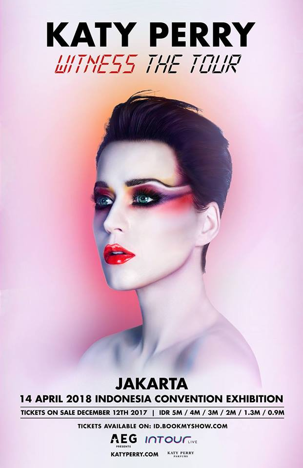 Katy Perry Witness The Tour 2018 Jakarta - ICE BSD, 14 April'181