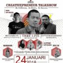 Creativepreneur Talkshow - Auditorium Universitas Negeri Yogyakarta, 24 Januari 2018