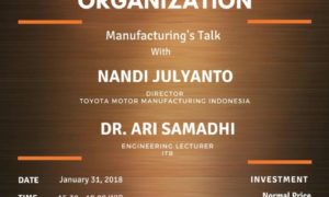 ICI Talks #Vol.1 How Technology Can Shock a Business Organization - Jakarta, 31 Januari 2018