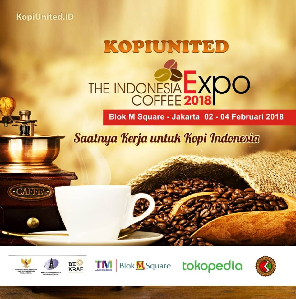 Indonesia Coffee Expo - Teras Berlian Blok M Square, 2-4 Februari 2018