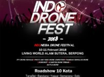 Indonesia Drone Festival - Living World Alam Sutera, 10-11 Februari 2018