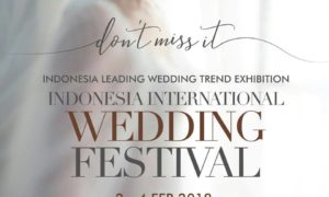 Indonesia International Wedding Festival - Jakarta Convention Center, 2-4 Februari 2018