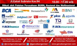 Mega Career Expo Jakarta - Smesco Convention Hall, 9-10 Februari 2018