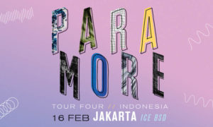 Paramore Tour Four Indonesia - ICE BSD City, 16 Februari 2018