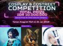 Predator League 2018 : Costreet & Cosplay Competition - Mall Taman Anggrek Jakarta, 21 Januari 2018