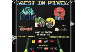 "Rest In Pixel ""A New Dimension of The Youth"" - SMAN 3 Kab. Tangerang, 27 Januari 2018"