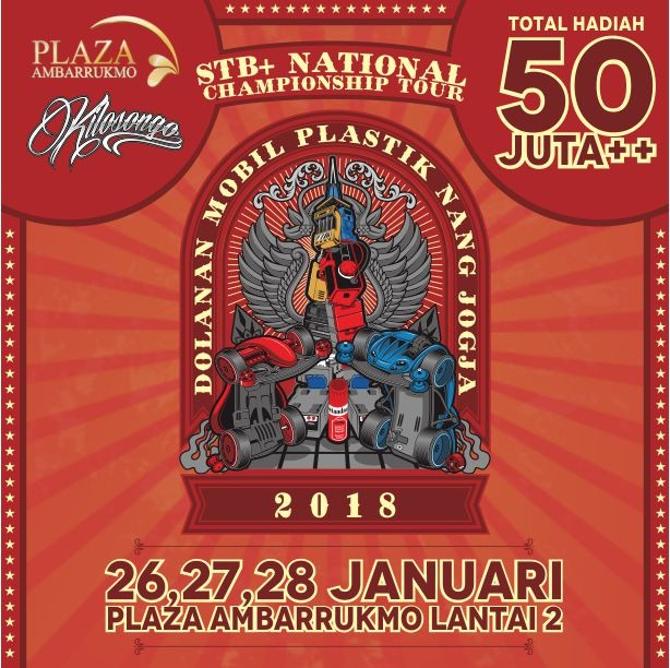 STB+ National Championship Tour - Plaza Ambarrukmo, 26-28 Januari 2018