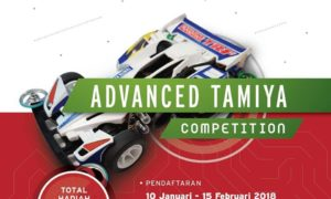 Advance Tamiya dan Innovative Competition - JCC, 24 Februari 2018