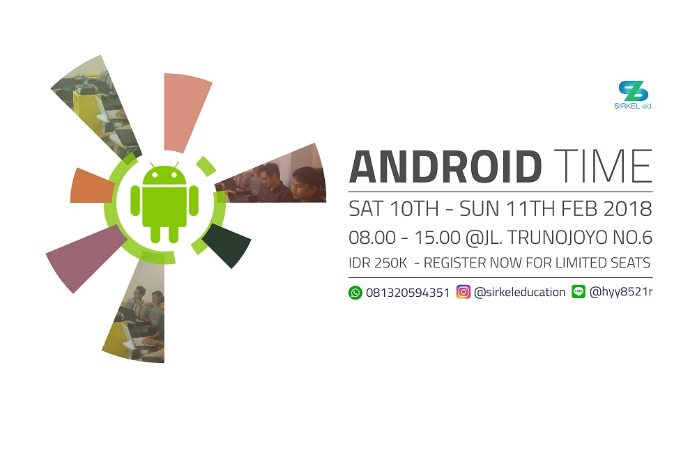 Android Workshop Beginner - Bandung, 10 - 11 Februari 2018