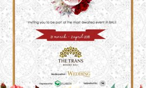 Bali Royal Wedding Festival - The Trans Resort, 31 Maret - 2 April 2018