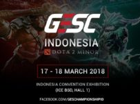 GESC Indonesia Dota 2 - ICE BSD City, 17-18 Maret 2018