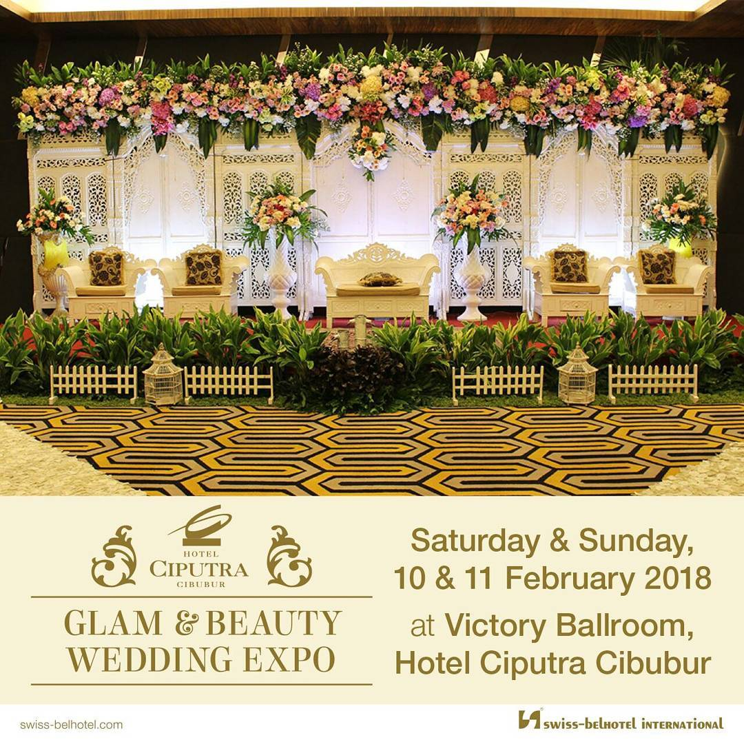 Glam & Beauty Wedding Expo - Hotel Ciputra Cibubur, 10-11 Februari 2018