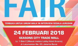 Job Fair Seasons City Trade Mall - Jakarta, 24 Februari 2018