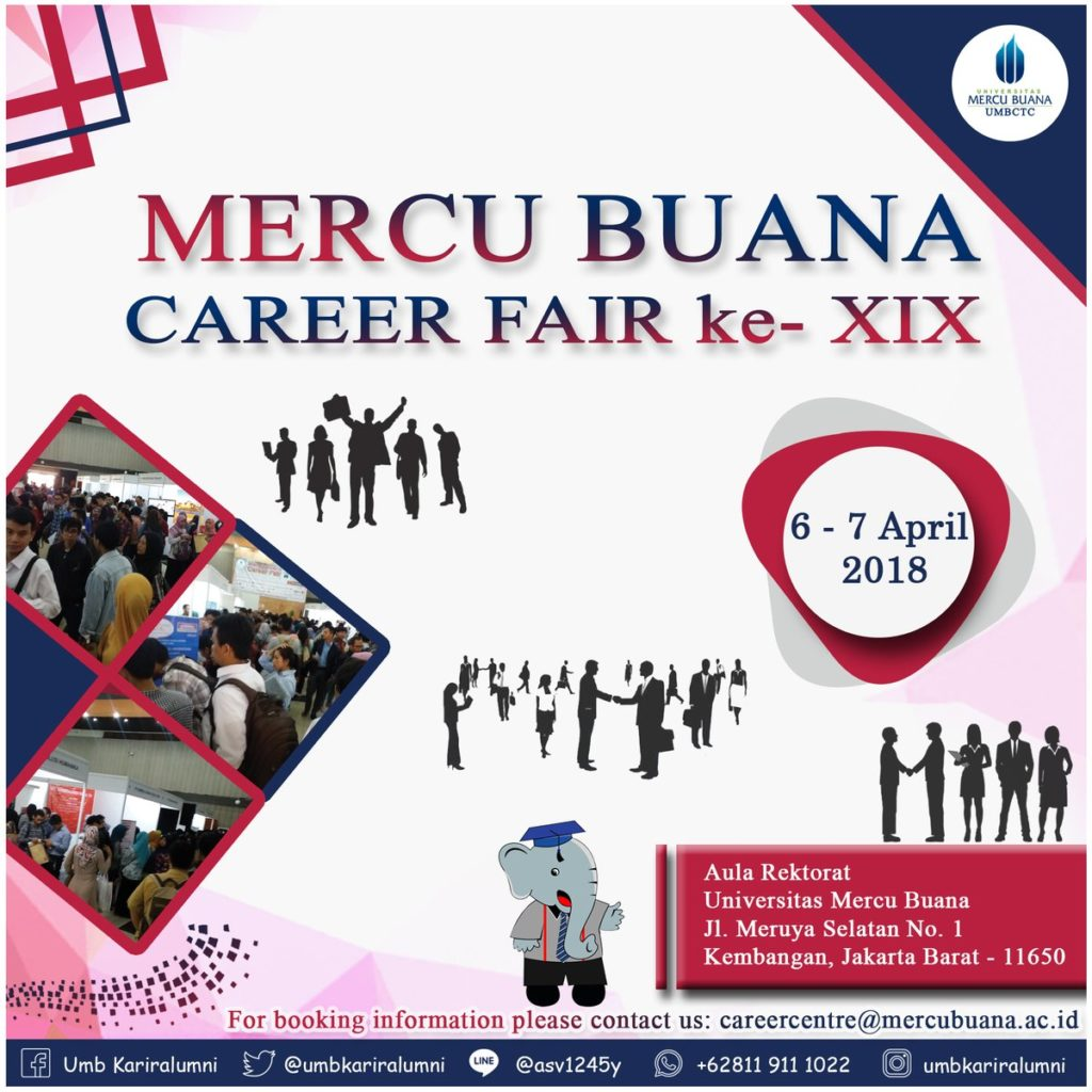 Mercu Buana Career Fair XIX 2018
