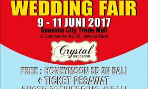 Seasons City Wedding Fair - Jakarta, 9-11 Maret 2018