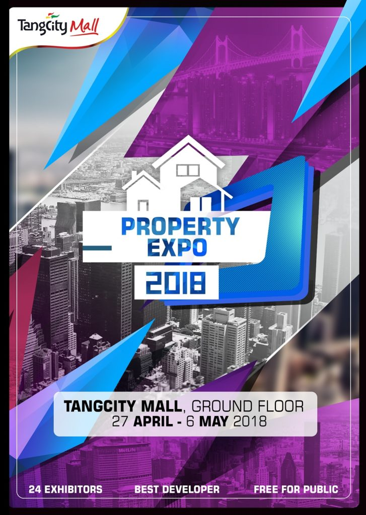 Tangcity Property Expo - Tangcity Mall, 27 April - 6 Mei 2018