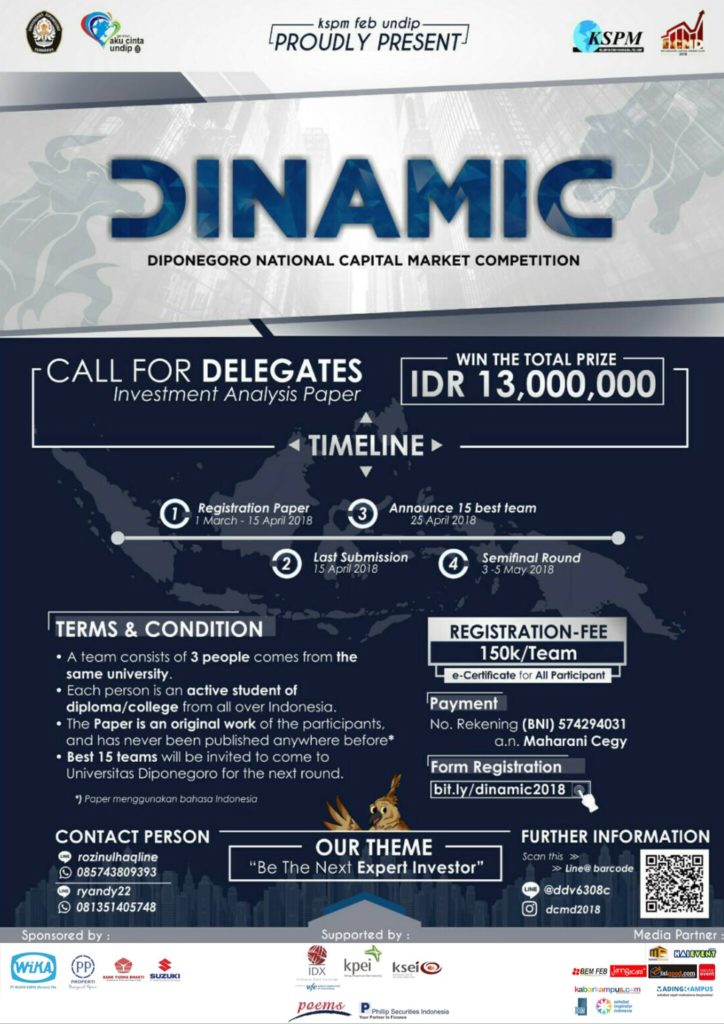 Dinamic 2018 - FEB Universitas DiponegoroDinamic 2018 - FEB Universitas Diponegoro
