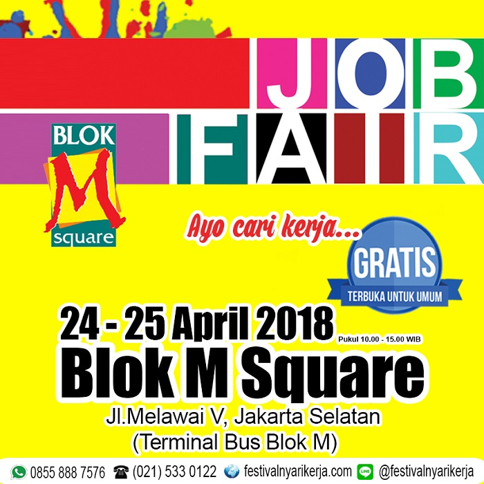 Job Fair Akbar Blok M Square​