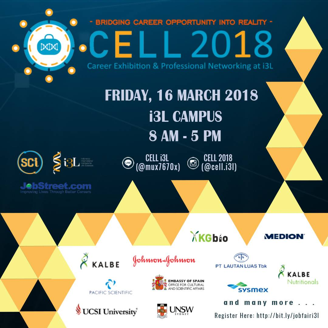 Job Fair and Higher Education Expo - Gedung i3L Jakarta, 16 Maret 2018