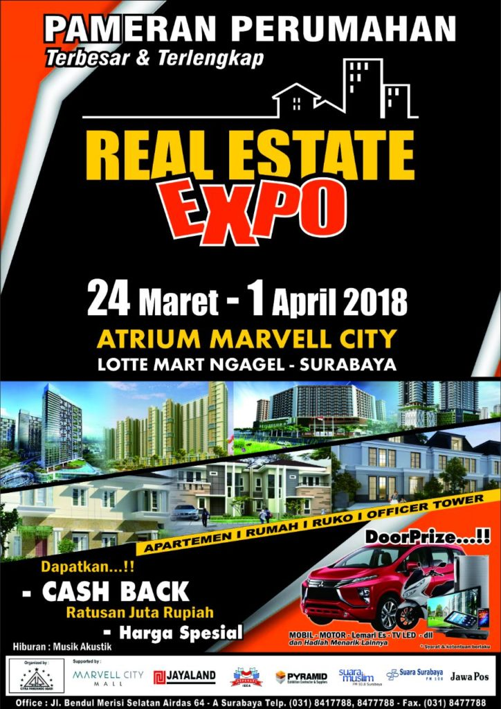 Real Estate Expo - Marvell City Surabaya, 24 Maret - 1 April 2018