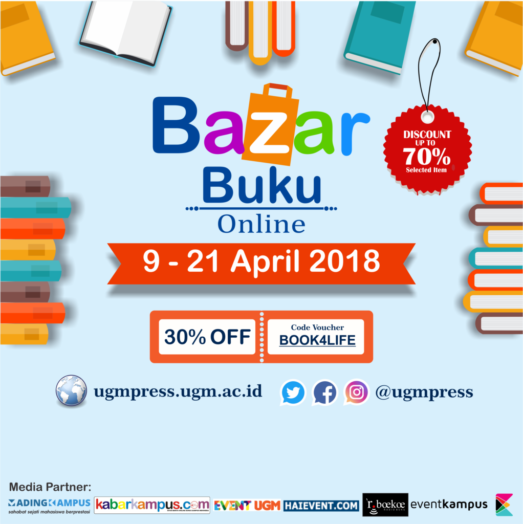 Bazar Buku Online UGMPress, 09-21 April 2018