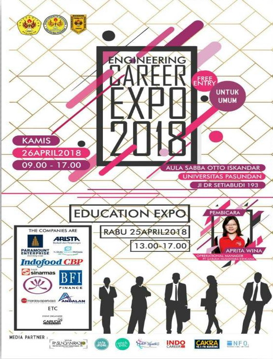Engineering Career Expo - Universitas Pasundan, 25-26 April 2018